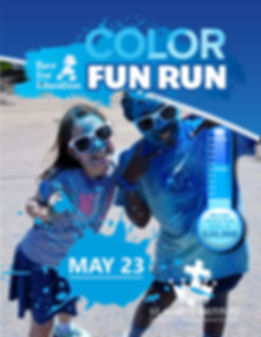 Race for Ed Color Fun Run 2019 poster.jp