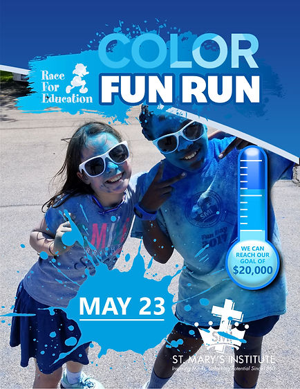 Race for Ed Color Fun Run 2019 poster.jp