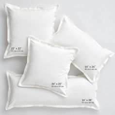 Flanged Pillows