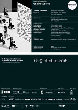 Milano Design Film Festival 2016