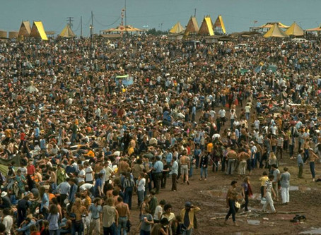 Woodstock Fifty Years ago 400k hippies bluefrogimports.biz/blog
