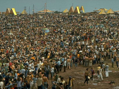 Woodstock Fifty Years ago 400k hippies bluefrogimports.biz/blog