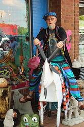 hippie clothing shop