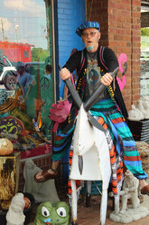 hippie clothing shop