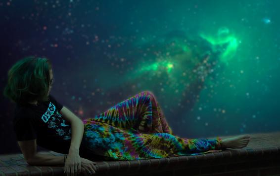 comfortable hippie textiles