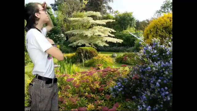 Gardenview through my shirt.