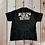 black and white tie dye shirt