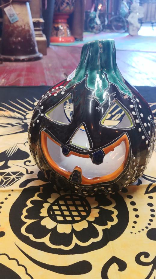 Talavera Jack-o-Lantern