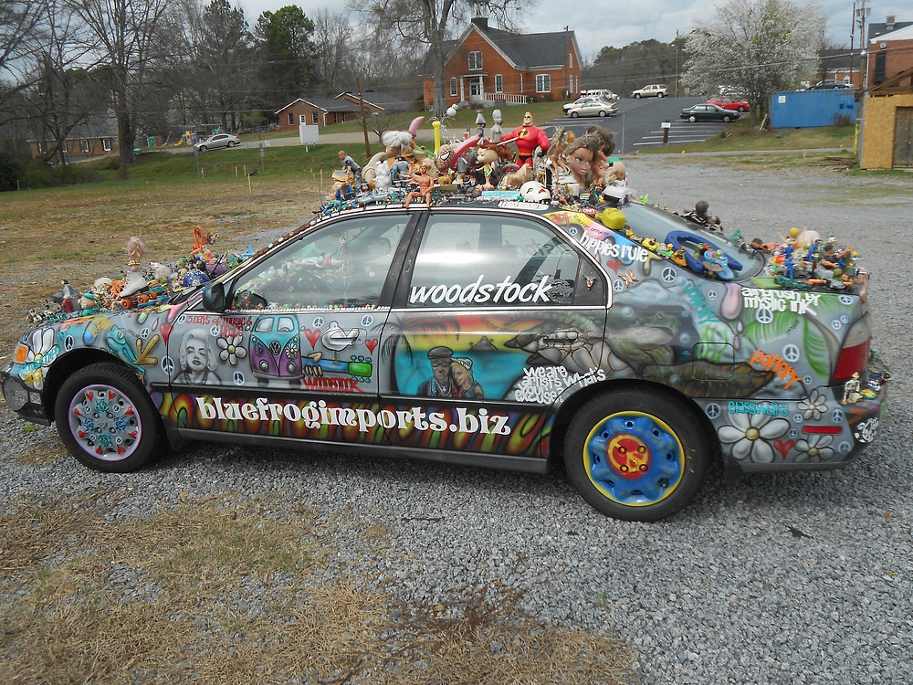 Recently completed re-do of the art car Karma