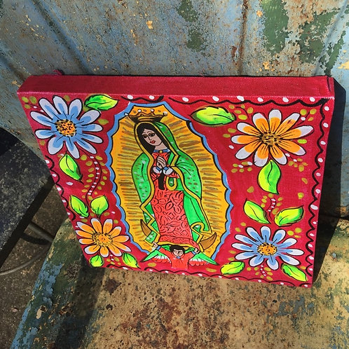 lady Guadalupe painting