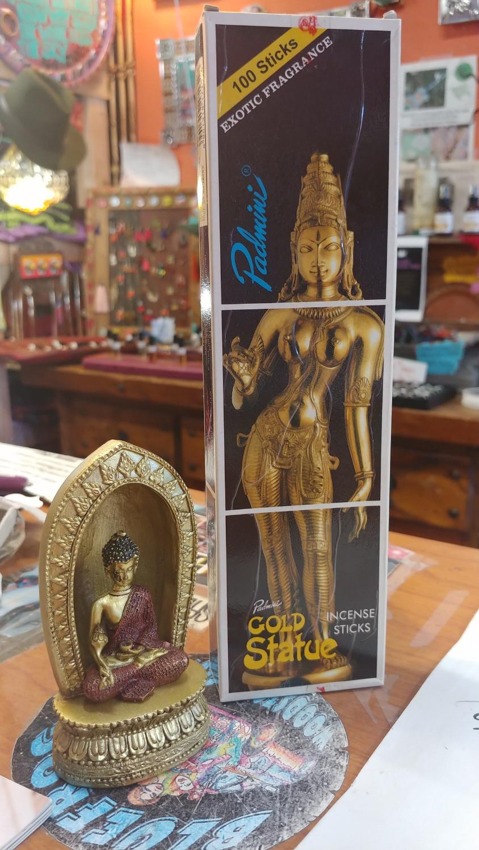 Bulk Gold Statue Incense