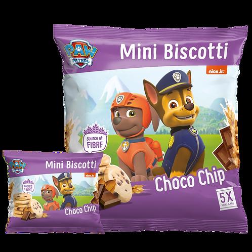 Appy Kids Co Paw Patrol Choco Chip Mini Biscotti 5 pack