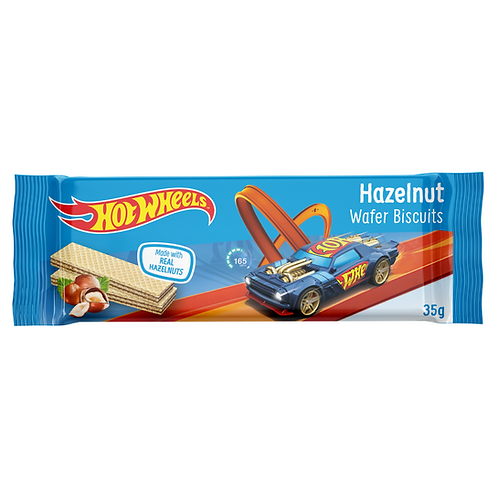 Hot Wheels Hazelnut Wafer Biscuit 4x25g