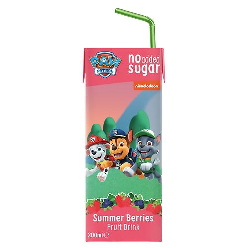 Appy Kids Co Paw Patrol Summer Berries Fruit Drink 200ml