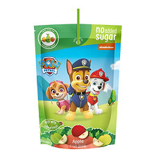Fruit Drink Paw Patrol Apple pouch mocku
