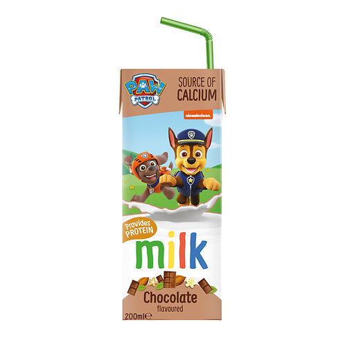 Appy Kids Co Paw Patrol Chocolate Flavoured Milk 200ml