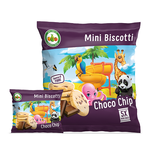 Appy Kids Co Choco Chip Mini Biscotti 5x20g