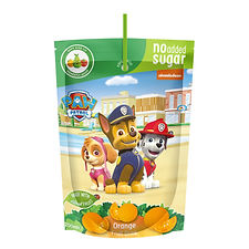 Fruit Drink Paw Patrol Orange pouch mock