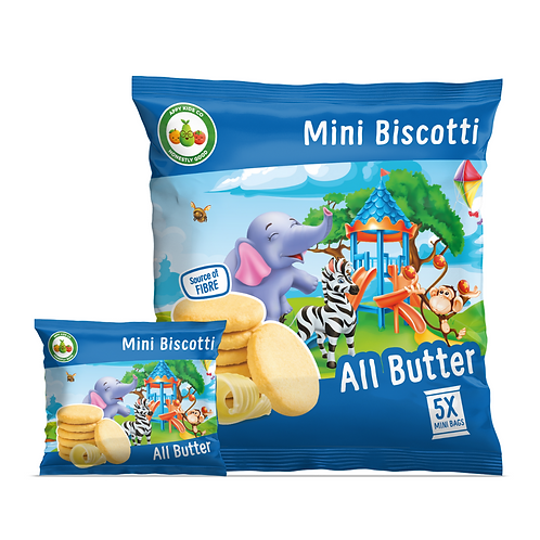 Appy Kids Co All Butter Mini Biscotti 5x20g