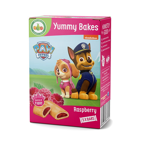 Appy Kids Co Paw Patrol Raspberry Yummy Bakes 5x23g