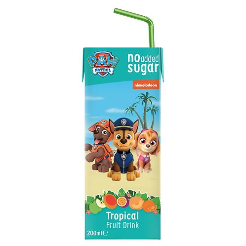 Appy Kids Co Paw Patrol Tropical Fruit Drink 200ml