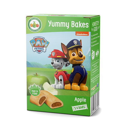 Appy Kids Co Paw Patrol Apple Yummy Bakes 5x23g