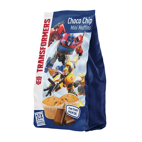 Transformers Mini Choco Chip Muffins