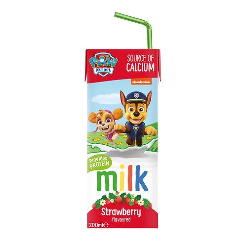 Appy Kids Co Paw Patrol Strawberry Flavoured Milk 200ml