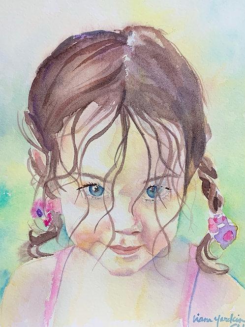 Child's portrat