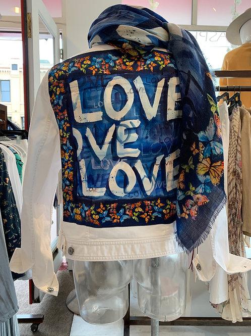 Blue Love Denim Jacket