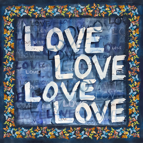 Love - Blue Challis