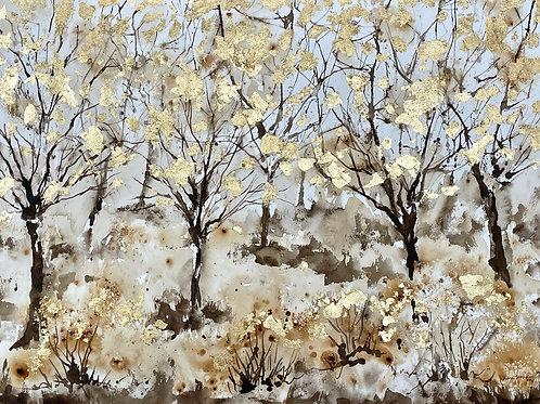 Sepia Woodland