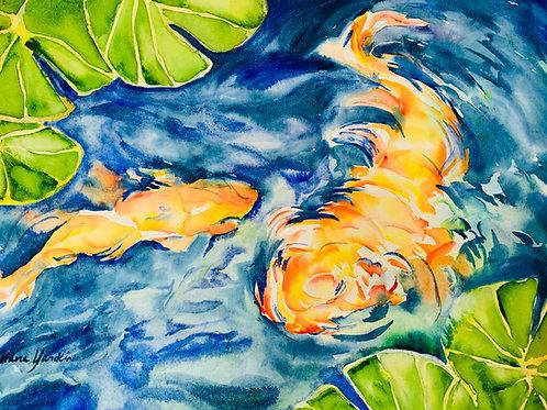 16x22 watercolor