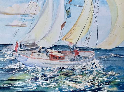 17x22 watercolor