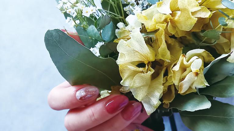 《ぷぺぽ4周年企画☆わくわくDAYS》母の日に♡ネイル&ドライフラワー