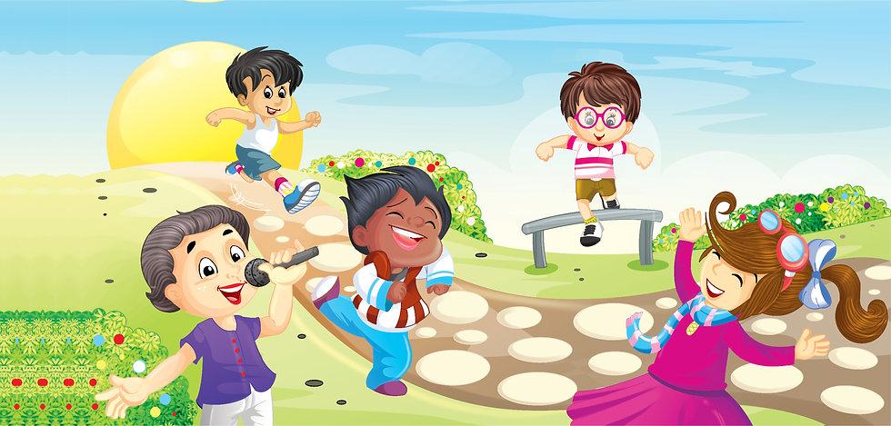 הקראה והפעלה פרונטלית בגני ילדים וספריות באזור גוש דן