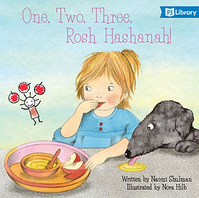 One Two Three Rosh Hashanah Cover Banner