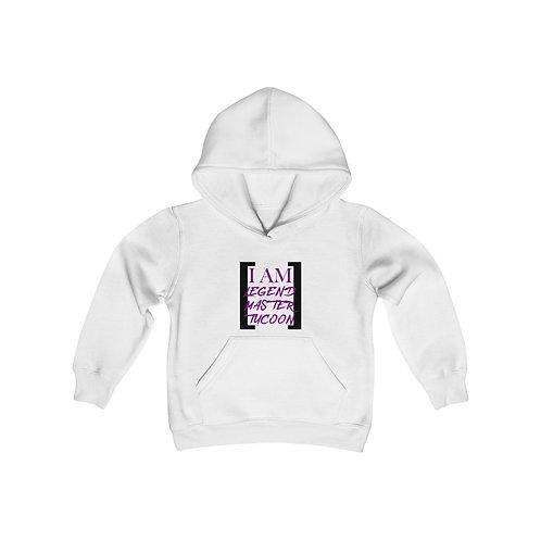 I Am LMT Youth Heavy Blend Hooded Sweatshirt (Purple)