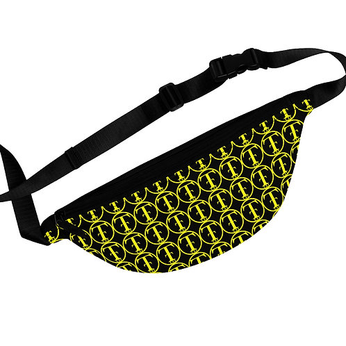 TNTCO Black Fanny Pack (Yellow)