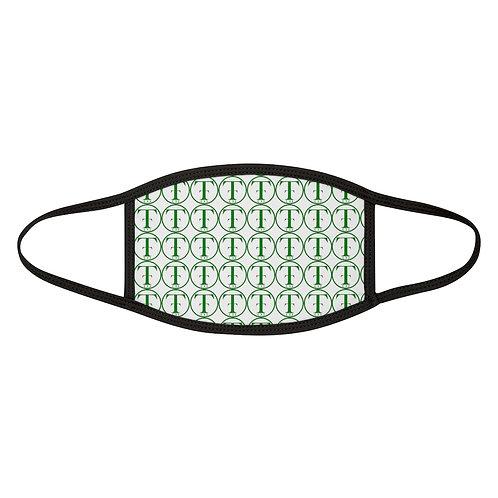 TNTCO Mixed-Fabric Face Mask (Green)