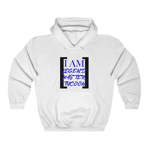 I Am LMT Men's Heavy Blend Hooded Sweatshirt (Blue)