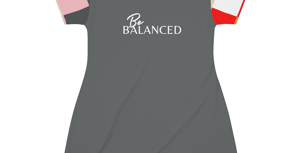 Be BALANCED T-Shirt Dress