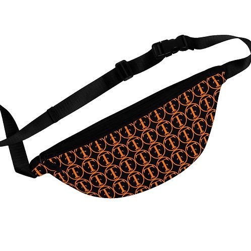 TNTCO Black Fanny Pack (Orange)