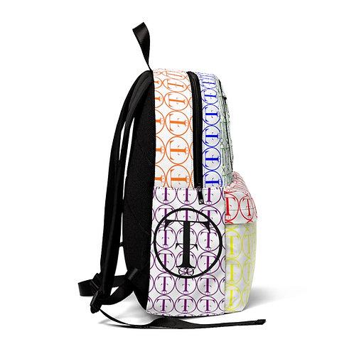 TNTCO White Unisex Classic Backpack