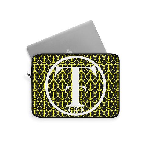 TNTCO Black Laptop Sleeve (Yellow)