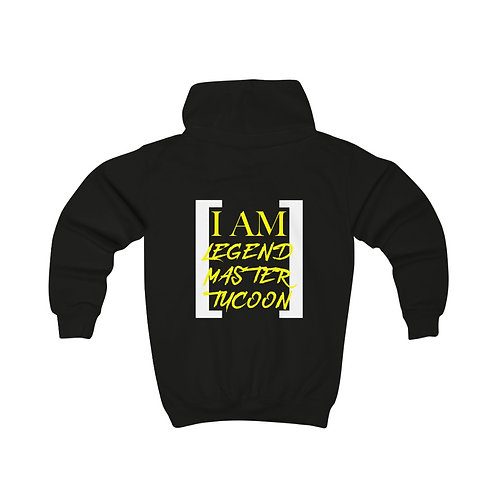 I Am LMT Kids Hoodie (Yellow)