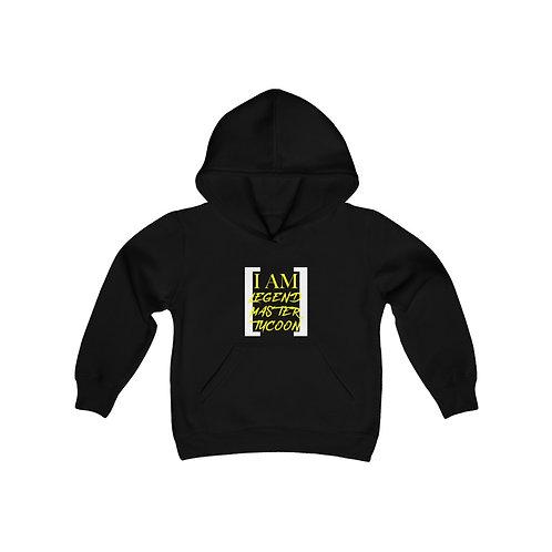 I Am LMT Youth Heavy Blend Hooded Sweatshirt (Yellow)