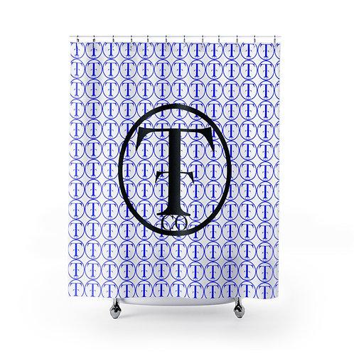 TNTCO Shower Curtains (Blue)