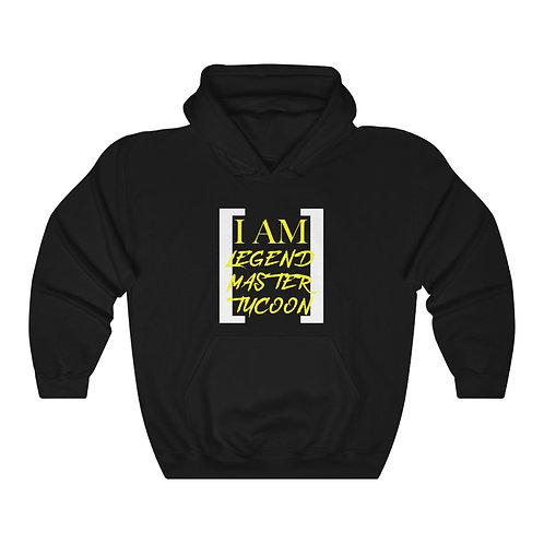 I Am LMT Men's Heavy Blend Hooded Sweatshirt (Yellow)