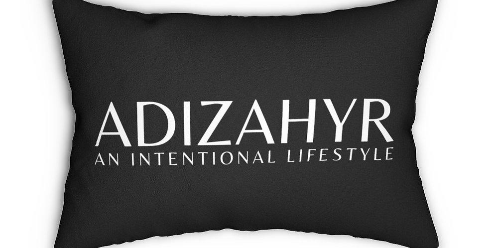 ADIZAHYR Spun Polyester Lumbar Pillow